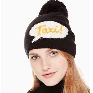 NWT Kate Spade ♠️ Taxi Beanie hat